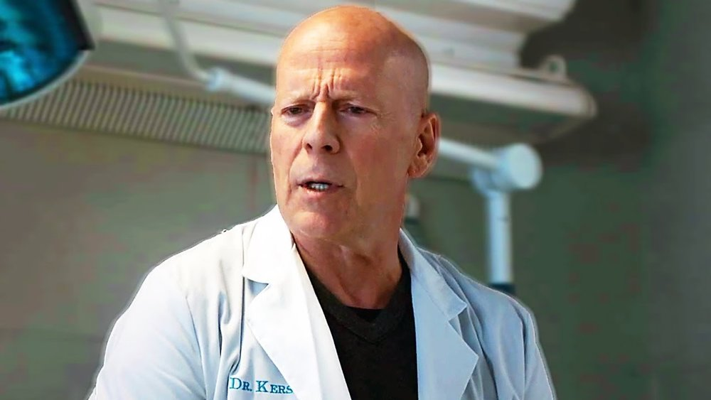 Willis is unconvincing as a doctor
