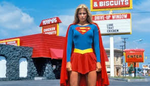 Though it appears in early drafts of the script, Popeyes Chicken and Biscuits ultimately does not appear in  Superman III