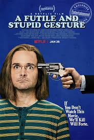 I never got around to seeing this so, Will Forte RIP? Loved you in MacGruber.