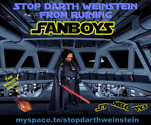 Turns out old Darth Weinstein was guilty of worse crimes, as was  Fanboys  producer Kevin Spacey.