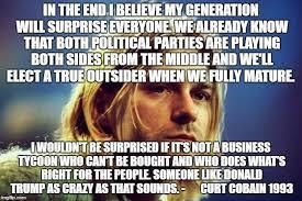 No Kurt Cobain And John Lennon Did Not Predict The Presidency Of