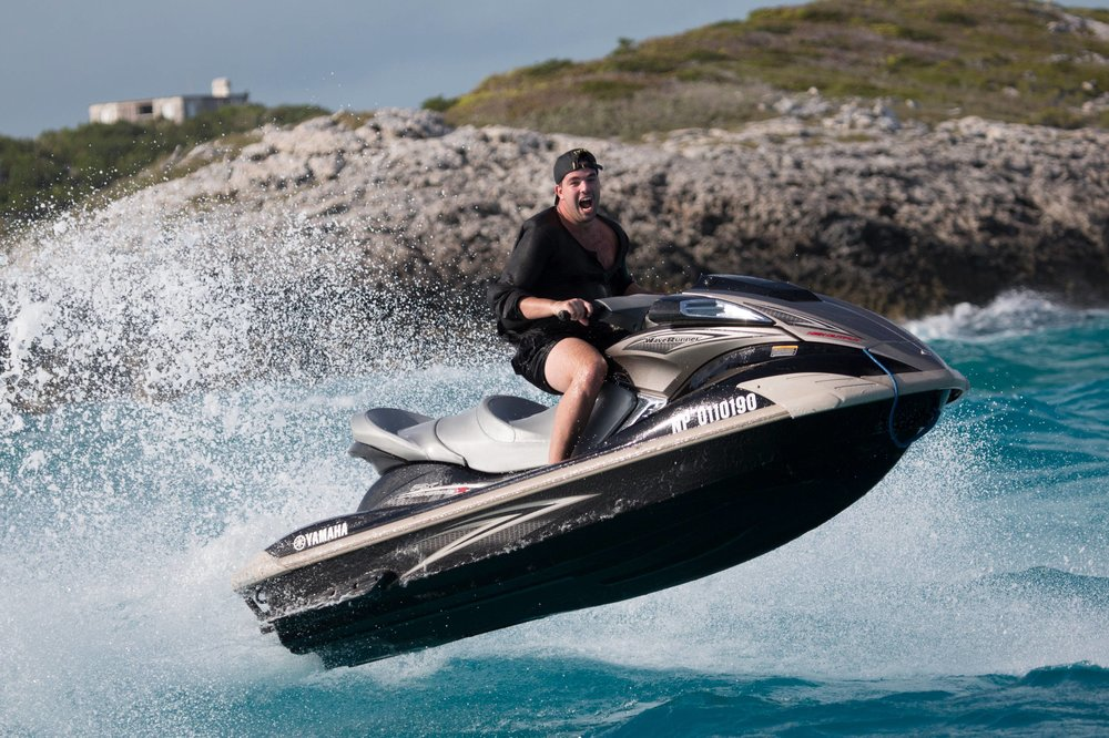 But they had jet-skis! Do bad people ever have access to jet-skis?