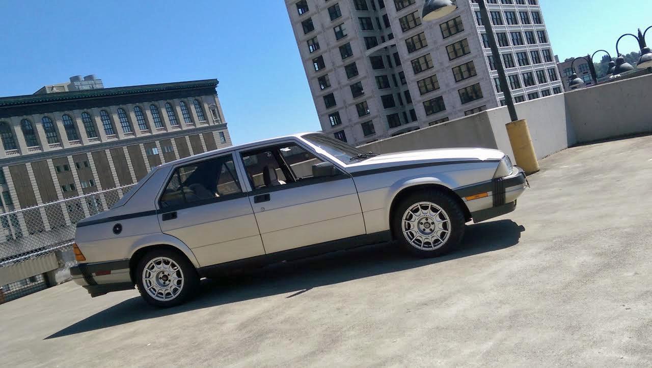1987 Alfa Romeo Milano Avants Modifications