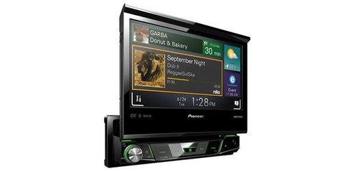 pioneer avh-x7800bt harley davidson flip screen dvd player radio