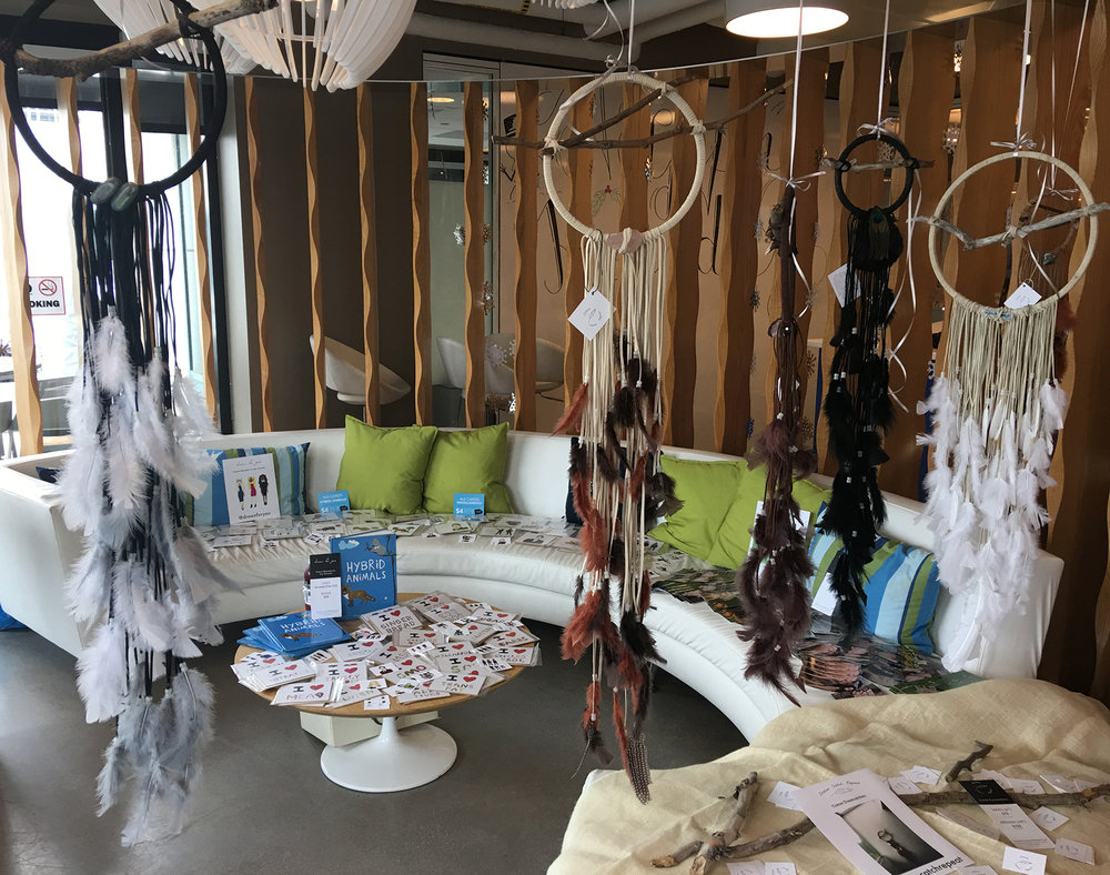 Dream Catch Repeat custom dreamcatchers holiday event