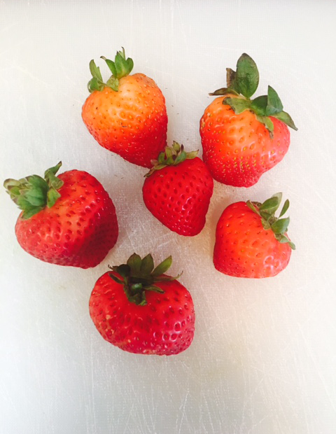 I can eat unlimited amounts of strawberries!