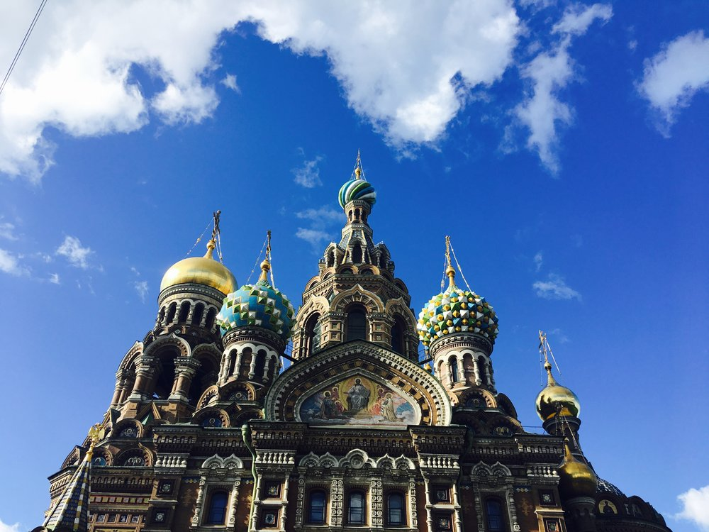 The Church on the Spilled Blood