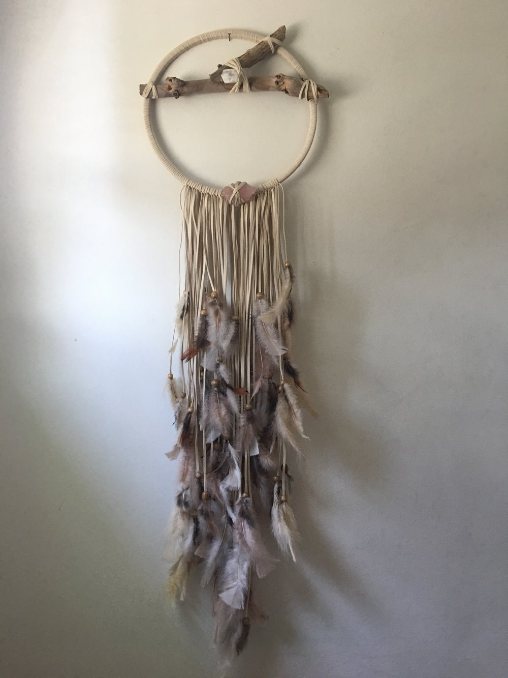 JT, custom dreamcatcher in large