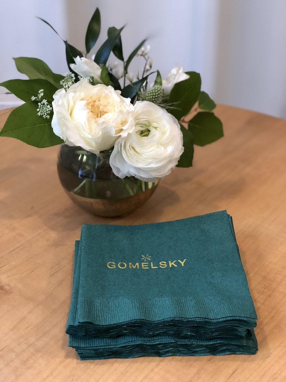 Gomelsky napkins
