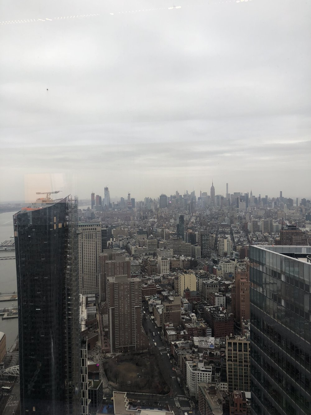 View from the 60th floor at One WTC