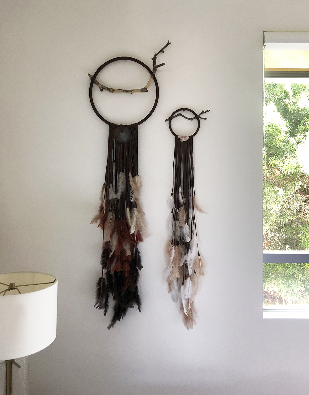 Shop Dreamcatchers - Handmade with healing stones from Ojai and Tucson