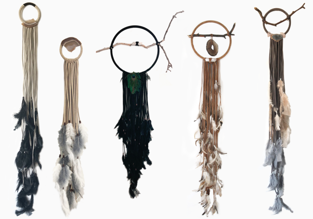 Custom Dreamcatchers by Julia Gomelsky