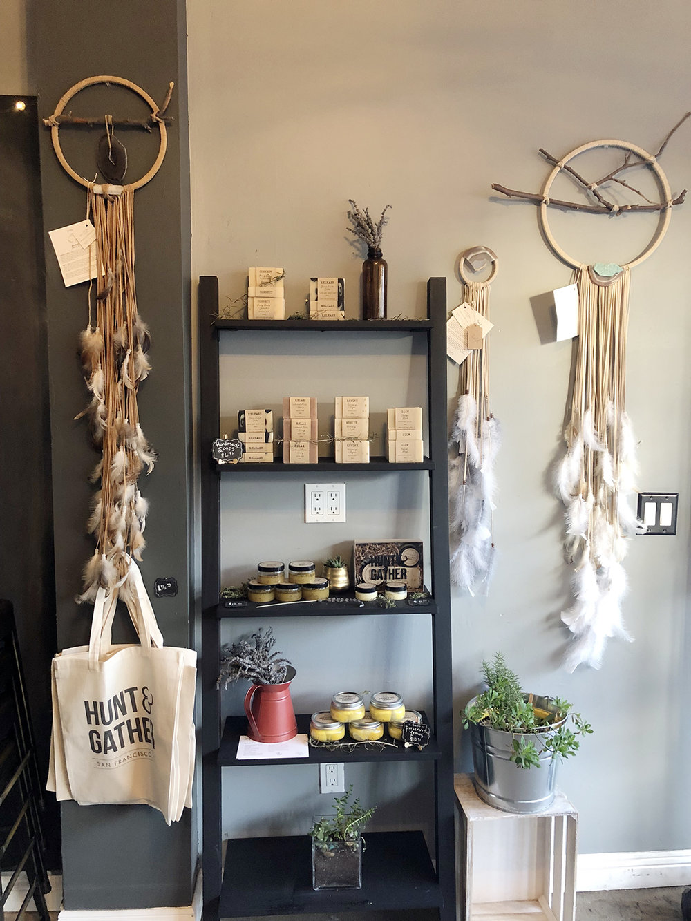 Dreamcatchers at Hunt & Gather