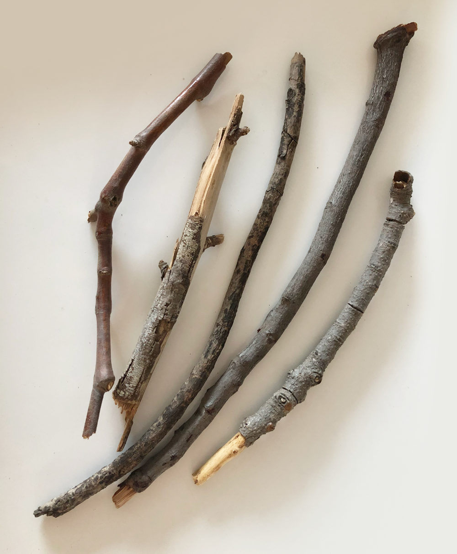 Custom dreamcatcher, sticks