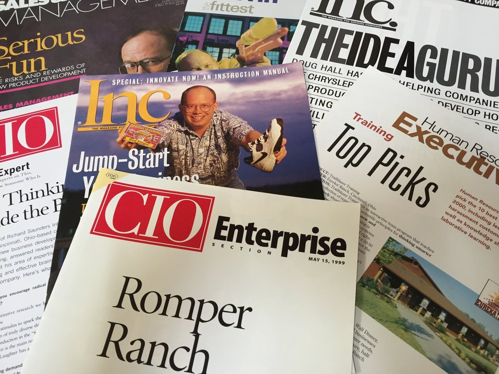 "The Eureka! Ranch, inventors of Innovation Engineering, have been innovating for Fortune 100 companies for the last 40 years.  Inc. Magazine calls them, ""America's #1 Innovation Team."""