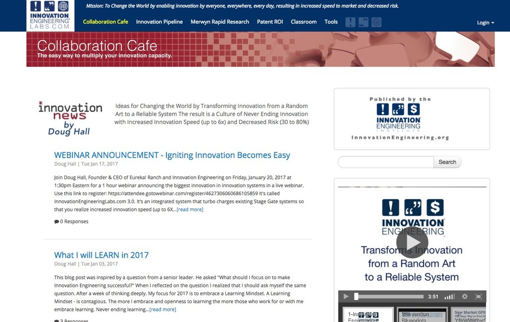 Innovation Engineering Labs Home Page