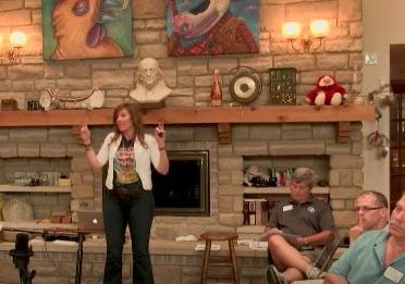 Maggie Nichols presenting Innovation 101 workshop