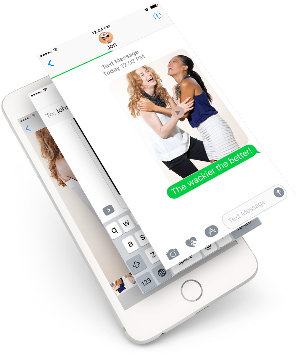 Ecards Reinvented: Pipture Video Messaging Service. Send Video Ecards Via Texts, Emails And Social Media.