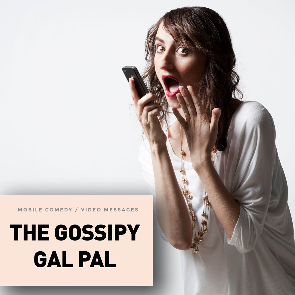Start a beautiful gal pal friendship with Bethany from the Gossipy Gal Pal collection. She's that judgmental 30-something gal pal whom you should probably ditch but you hold onto because she's been there for you anytime you've needed her.