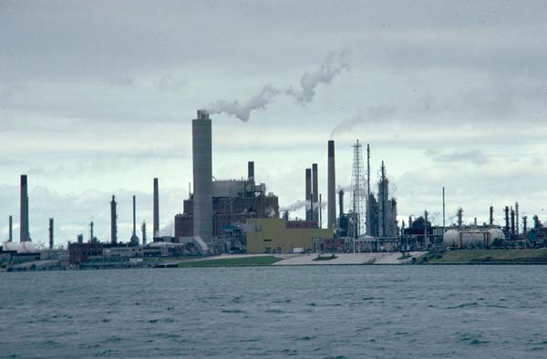Factories Near The Great Lakes