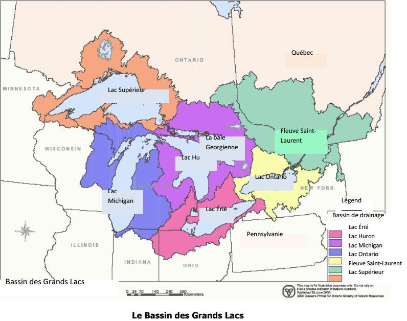 Le Bassin des Grands Lacs
