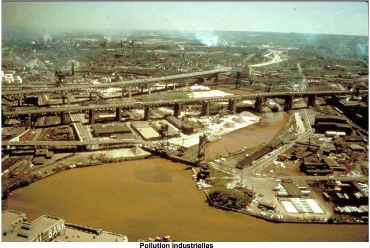 Pollution industrielles