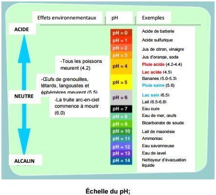 Échelle du pH