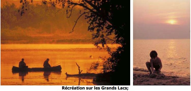 Récréation sur les Grands Lacs