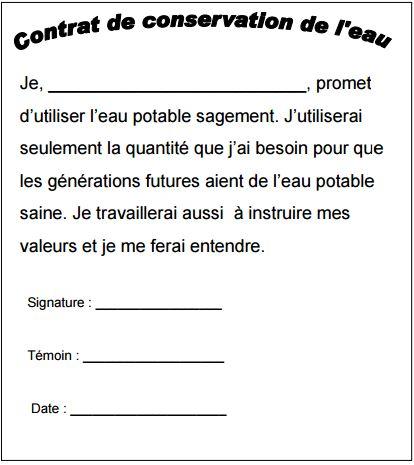 contrat de conservation