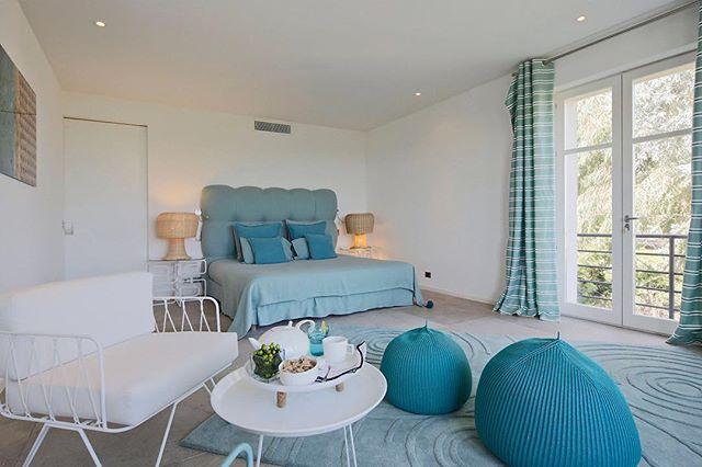 Master Bedroom St Tropez #kellybedel #kbdesign #deco #decoration #interiordesign #sainttropez #chambre