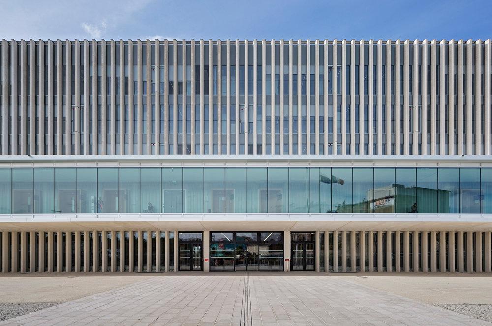 Palais de Justice de Caen  baumschlager eberle