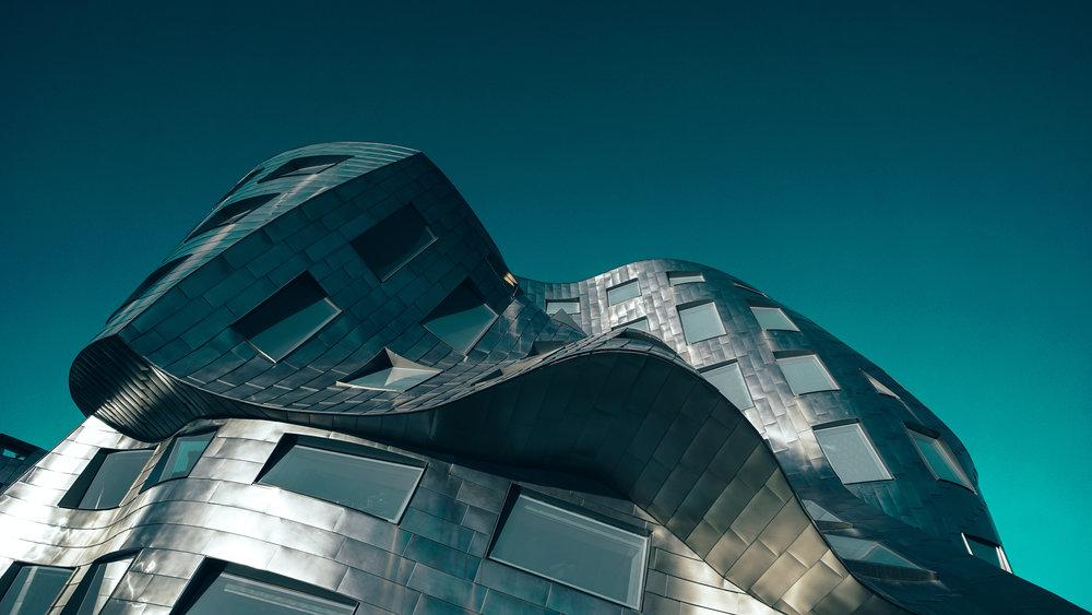 Frank Gehry Building Las Vegas |Zeiss Lenspire