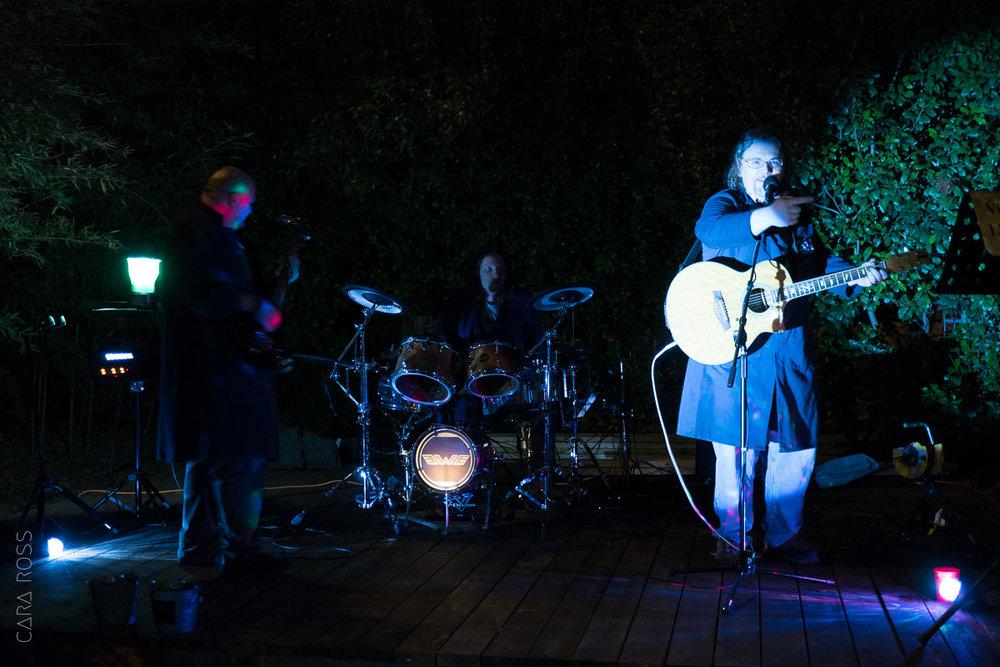 """Viewers Like Ewe"" laying down some backyard tunes for us."