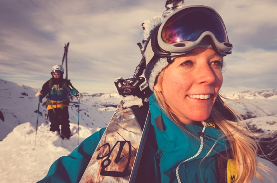 "Annelise Loevlie is the incredibly successful CEO of Icelantic Skis. A pioneer in the Outdoor Community, Annelise serves on the board of directions for SnowSports Industries America, has received the presidential ""E"" Award for export excellence, the nation's highest honor for companies contributing to the growth of U.S. exports, and has lead the Icelantic brand into the forefront of skiing technologies, picking up numerous awards and acclamations along the way.  When she is not traveling abroad, or attending summit conferences, she is often found ski-touring or hiking the mountains of Colorado with her dog."