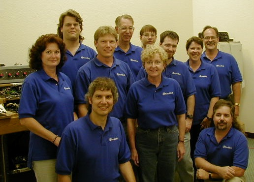 Staff photo in 2000.