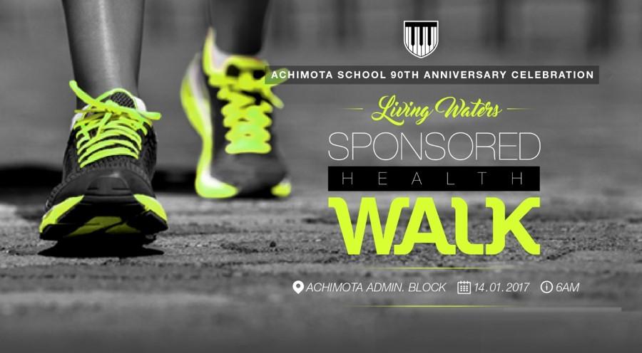Living Waters Sponsored Health Walk