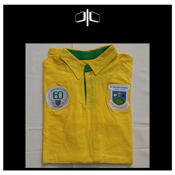 St Peters 60th Limited Edition Polo -Shirt - Yellow - Green.jpg