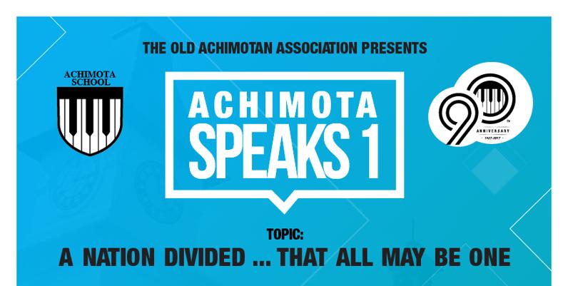 Achimota Speaks One