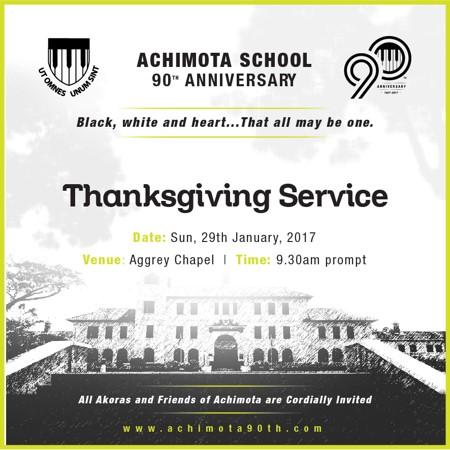 Achimota 90th Thanksgiving Service