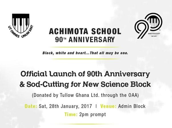 Achimota 90th - Official Launch + Sod-Cutting