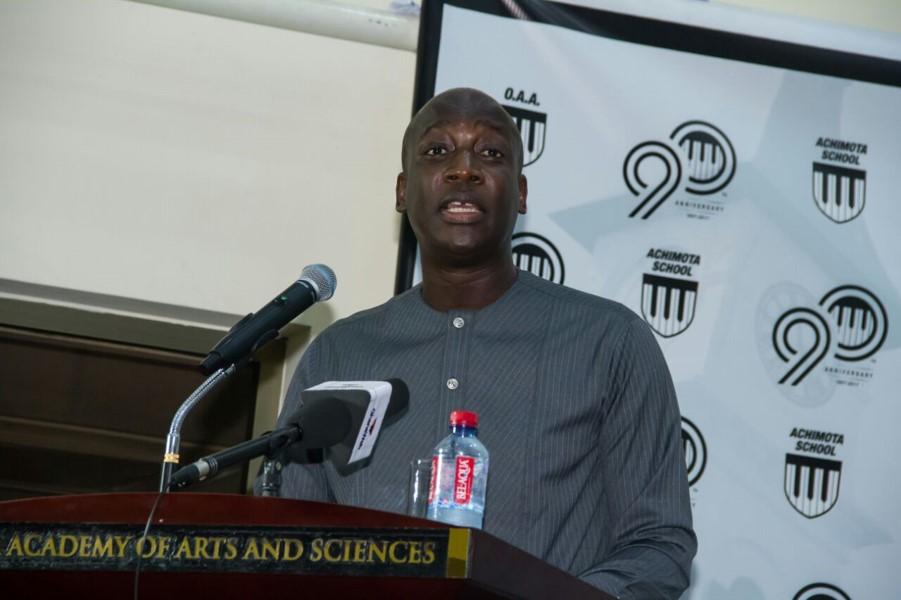 Achimota Speaks 1 - Keynote Speaker - Akora (1985) Yaw Nsakoh