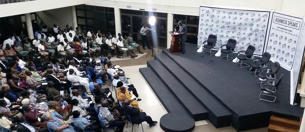 Achimota Speaks 1 - Introductions By Akora Kwaku Sayki-Addo