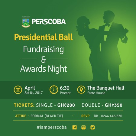 PERSCOBA Presidential Ball