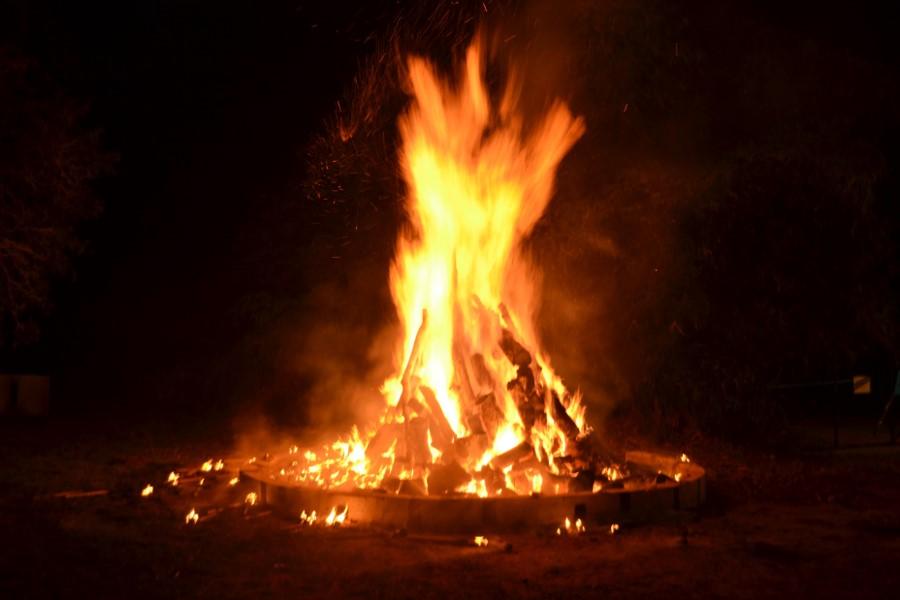 Achimota 90th - Bonfire Night Fire