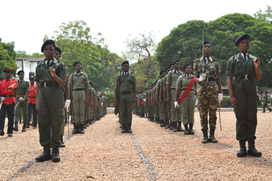 Achimota 90th - Founders' Day Cadet Parade