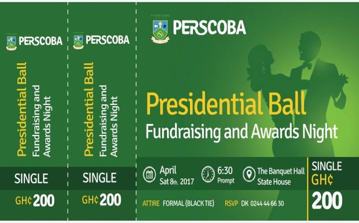 Presidential Ball - Single Ticket - 200 GHC
