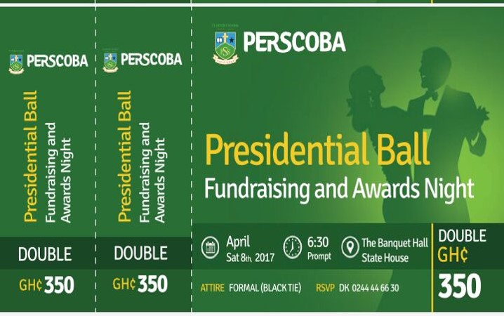 Presidential Ball - Double Ticket - 350 GHC