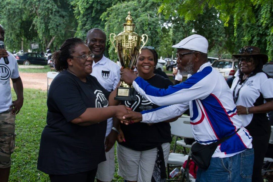 1976 Year Group Dethrones 1989 Year Group As The Health Walk Champions...