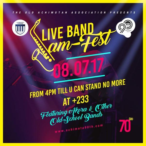 Achimota 90th Live Band Jam Fest