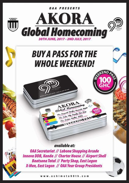 Homecoming Weekend Passes
